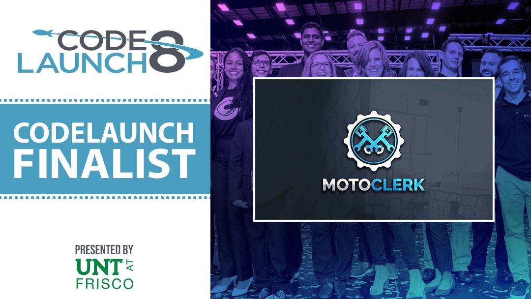 Highlighting MotoClerk, CodeLaunch 8 Finalist