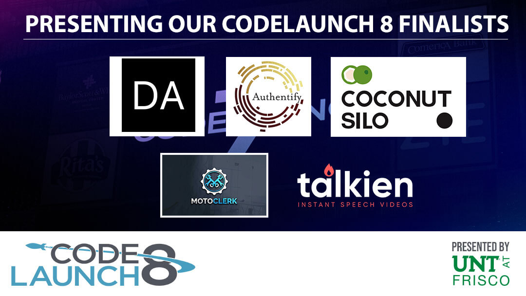 Introducing the CodeLaunch 8 Finalists