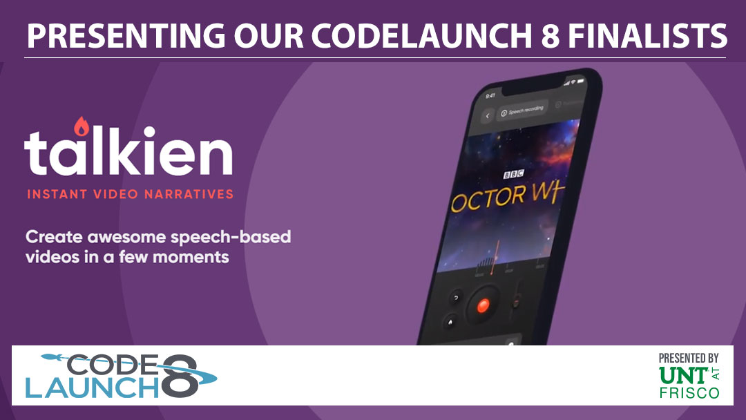 Introducing CodeLaunch 8 Finalist, talkien